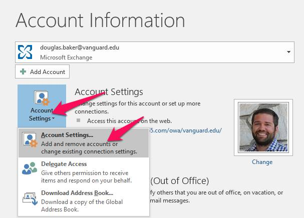 how to add a mailbox to outlook